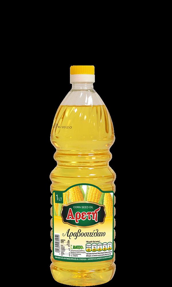 Αραβοσιτέλαιο Αρετή 1L