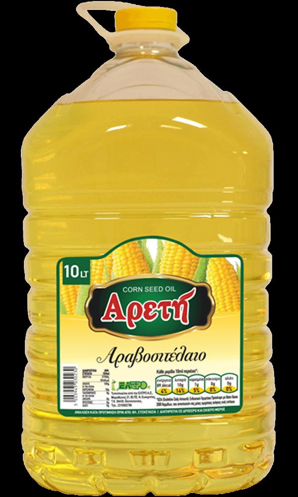Αραβοσιτέλαιο Αρετή 10L