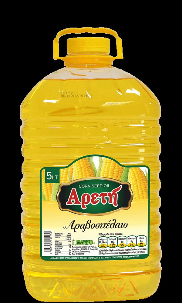 Αραβοσιτέλαιο Αρετή 5L