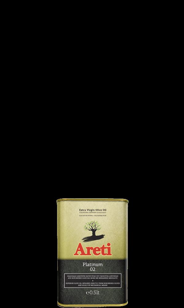 Ελαιόλαδο Αρετή Platinum 0.5L