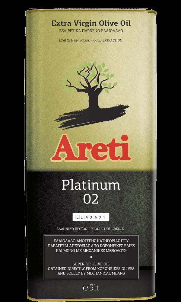 Ελαιόλαδο Αρετή Platinum 5L